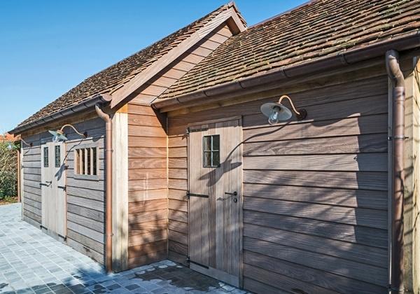 Landelijke bijgebouwen, tuinhuizen of garages in hout : Producten ...