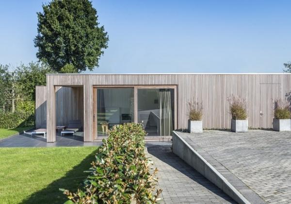 Moderne bijgebouwen, poolhouses en tuinhuizen : Producten : Wood Arts