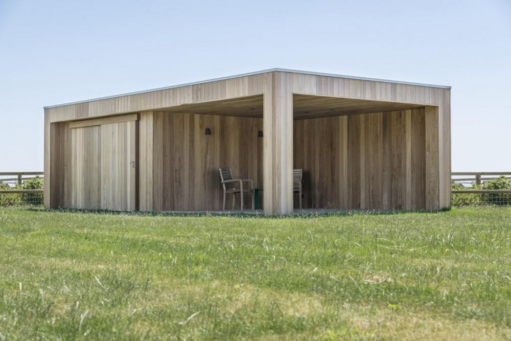 Woodarts - Bijgebouw plaatsen