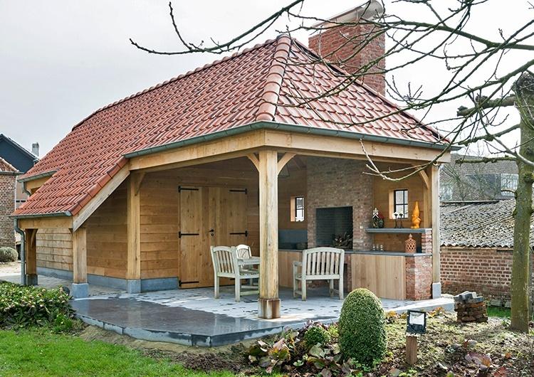 Woodarts - Een tuinhuis frist uw tuin op