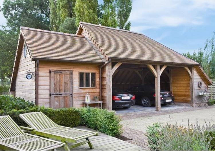 Woodarts - Houten carports en garages bij Wood Arts
