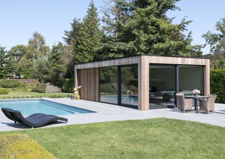 Woodarts - Modern tuinhuis of poolhouse van de beste kwaliteit