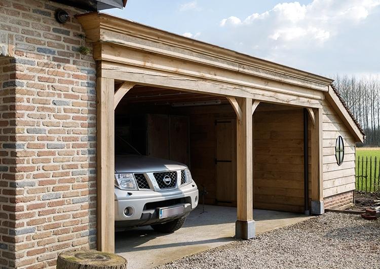 carports en garages op maat carport plaatsen carports garages west vlaanderen oost vlaanderen producten wood arts