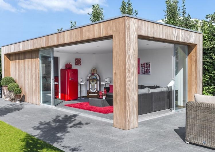 Super Trendy tuinhuis - modern bijgebouw - trendy tuinhuizen - west OA-13