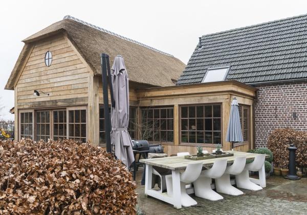 Landelijke Bijgebouwen Poolhouses Tuinhuizen Of Garages In Hout